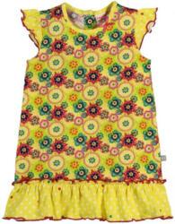 Baby-Mädchen-Kleid mit Blumenmuster