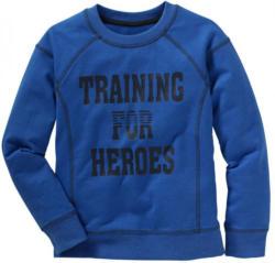 Jungen-Sweatshirt mit Ziernaht-Design