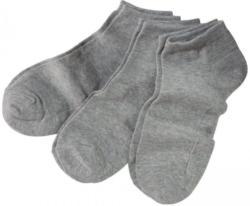 Damen-Sneaker-Socken, 3er Pack