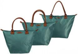 Damen-Handtasche mit Kunstleder-Henkeln, 3 verschiedene Größen