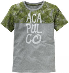 Jungen-T-Shirt mit Palmen-Druck
