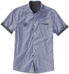 Herren-Hemd mit Krempel-Ärmeln