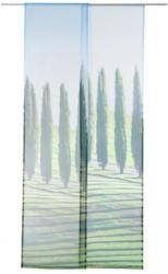 Schiebegardine mit Fotodruck, ca. 60x245cm, 2er Pack