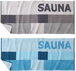 Saunatuch in modernem Design, 80x180cm