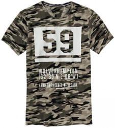 Herren-T-Shirt in Camouflage-Optik