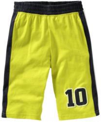 Jungen-Bermuda-Shorts mit Kontrast-Einsätzen