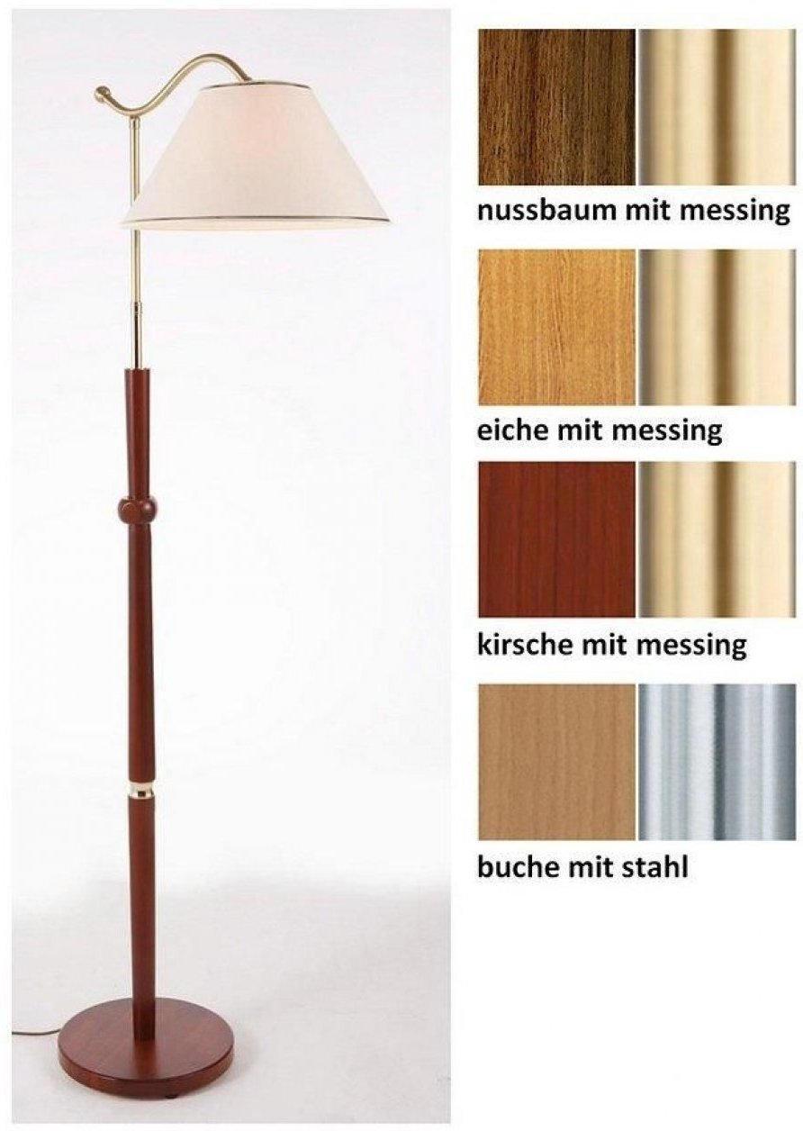 Holz Stehlampe 1 Flammig In 4 Farben Nur 169 99 Statt 199 99