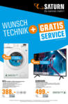 Saturn Wunschtechnik + gratis Service - bis 06.03.2019