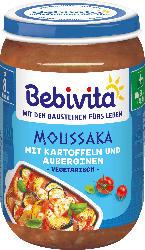 Bebivita Menü Vegetarisches Moussaka mit Kartoffeln und Auberginen ab 8. Monat