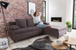 Home affaire Ecksofa »Aila« mit Bettfunktion und Bettkasten
