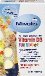 dm-drogerie markt Mivolis Vitamin D3 Kautabletten für Kinder, Kautabletten 60 St.