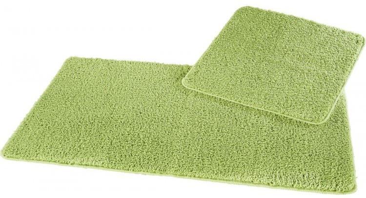 Badgarnitur grün 50 x 50 und 60 x 100 cm
