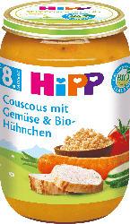 Hipp Menü Couscous mit Gemüse & Bio-Hühnchen ab 8. Monat