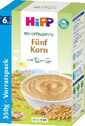 Hipp Bio-Getreidebrei Fünf Korn ab 6. Monat