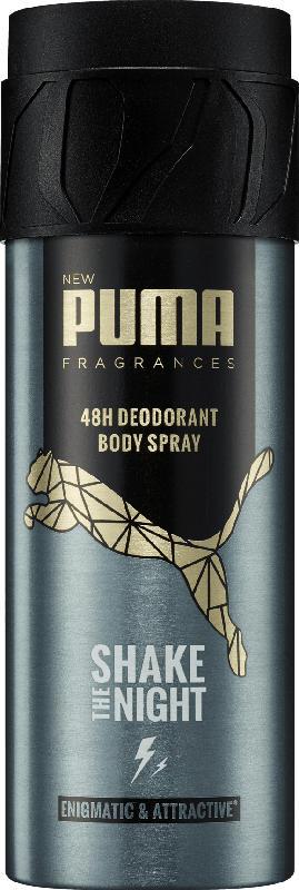 Puma Deo Spray Deodorant Shake The Night