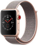 Cyberport Apple Watch Series 3 LTE 42mm Aluminiumgehäuse Gold mit Sport Loop Sandrosa - bis 06.03.2019