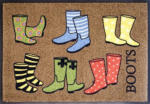 "NORMA Akzente Design Schmutzfangmatte ""Boots"" (50 x 70 cm)"