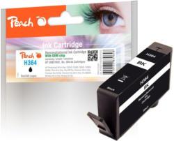 Peach Tintenpatrone mit Chip, schwarz kompatibel zu HP No. 364, CB316EE