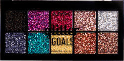 NYX PROFESSIONAL MAKEUP Lidschattenpalette Palette Glitter Goals Cream Pro Palette 01