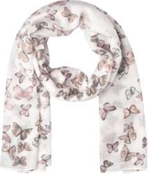 Damen Tuch mit Schmetterlingen