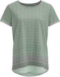 Damen T-Shirt mit Chiffonbesatz