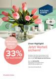 33% Rabatt auf alle Küchen*!