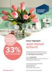 küchenquelle 33% Rabatt auf alle Küchen*! - bis 31.03.2019