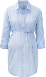 Damen Umstands-Bluse mit Bindegürtel