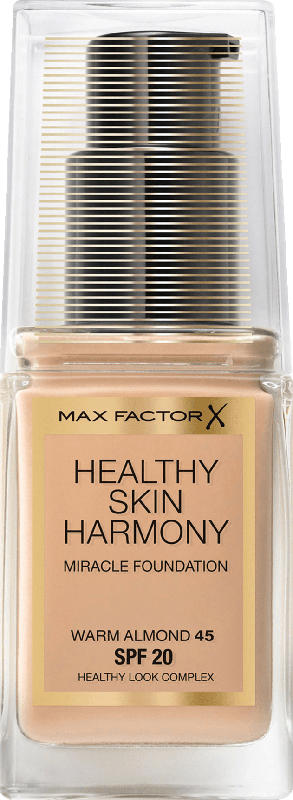 Max Factor Make-Up Healthy Skin Harmony Miracle Foundation Warm Almond 45