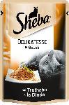 dm-drogerie markt Sheba Nassfutter für Katzen, Delikatesse in Gelee, mit Truthahn
