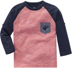 Baby Langarmshirt mit Brusttasche
