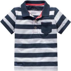 Baby Poloshirt mit Blockstreifen