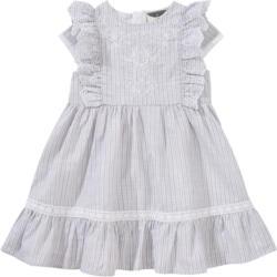 Mädchen Kleid mit silbernen Akzenten