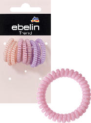 ebelin Haargummis Spirale mini/dünn Farb-Mix