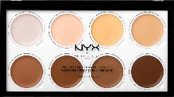 NYX PROFESSIONAL MAKEUP Kontur Palette Highlight and Contour Cream Pro Palette 01