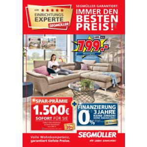 Segmüller Prospekt Aktuelle Angebote März 2019 Mydealzde