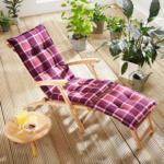 Solax-Sunshine Deckchair-Auflage, Mauve-Brick