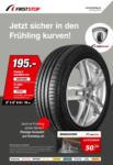 First Stop Reifen & Auto Service AG Jetzt sicher in den Frühling kurven! - au 31.05.2019
