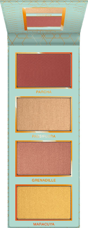 Catrice Rouge & Highlighter Addicted To Passion Fruit Face Palette nude