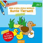 dm-drogerie markt Ars Edition Bunte Tierwelt Malbuch