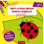 dm-drogerie markt Ars Edition Mein erstes dickes buntes Malbuch ab 2 Jahre - bis 16.03.2020