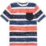 Ernsting's family Jungen T-Shirt mit Blockstreifen