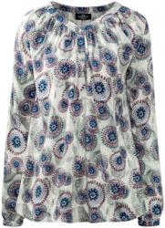 Damen Schlupfbluse mit Allover-Print