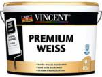 BayWa Bau- & Gartenmärkte Vincent Wandfarbe Premium Weiß, 10 L, weiß matt