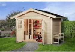 Weka Gartenhaus Premium 45 mm