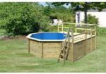 BayWa Bau- & Gartenmärkte Karibu Pool 1 Variante E inkl. Sonnenterrasse