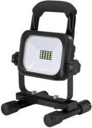 Unitec LED Akku-Strahler, 10W, 800lm, schwarz
