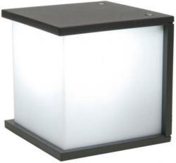 Lutec Außenwandleuchte Cube, würfelförmig