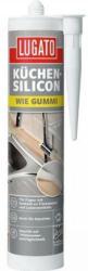 Lugato Küchen-Silikon Wie Gummi Transparent, 310 ml