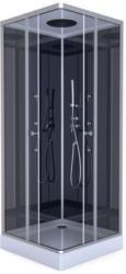 Aurlane Komplettdusche Colours Black 90x90 cm